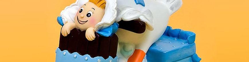 Figuras tartas para bautizo